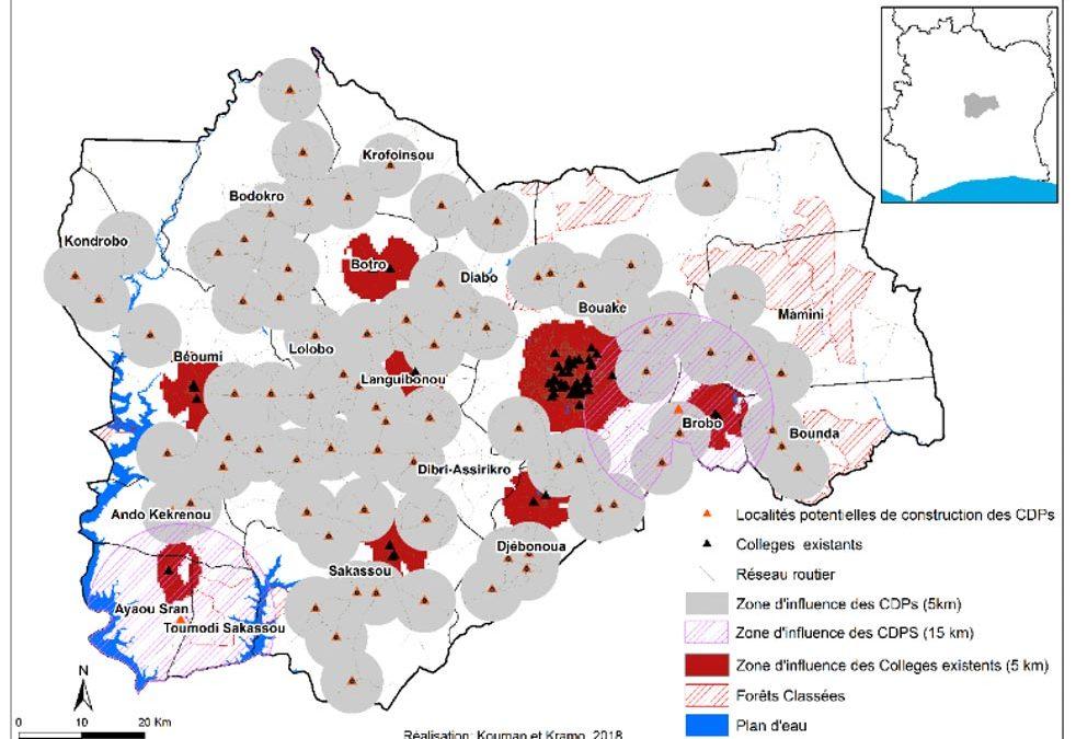 Identification des Localités Propices pour la Construction de Collèges de Proximité
